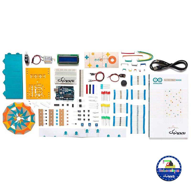 استارتر آردوینو، arduino starter kits ، خرید برد آردوینو، آردوینو برای کودکان و مبتدیان