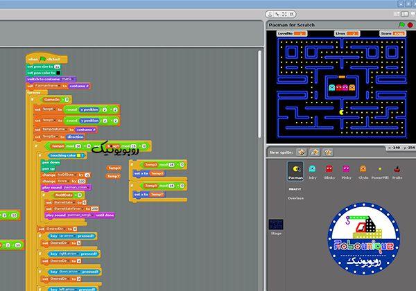 ساخت بازی با اسکرچ، ساخت بازی، آموزش ساخت بازی، بازی اسکرچ،بازی سازی با اسکرچ، برنامه نویسی کودکان