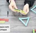 ساخت اشکال هندسی با سازه رباتیک