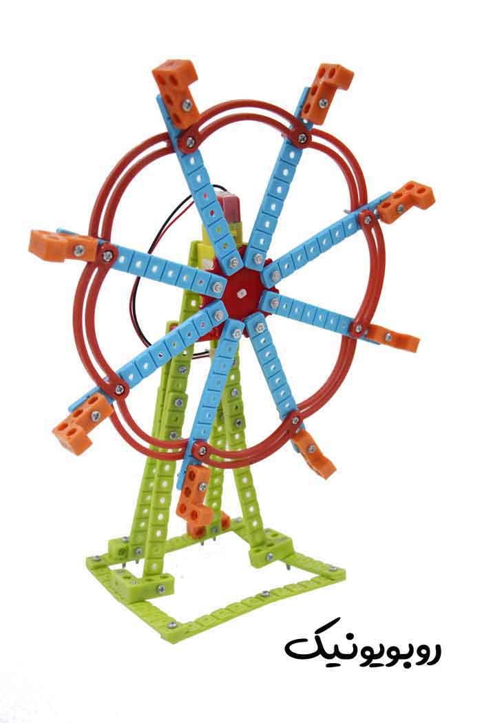 آموزش ساخت چرخ و فلک آموزش حلاقیت