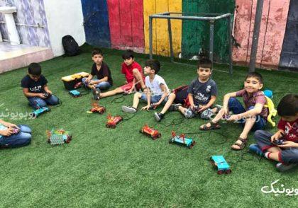 آموزش رباتیک در خانه و مدرسه