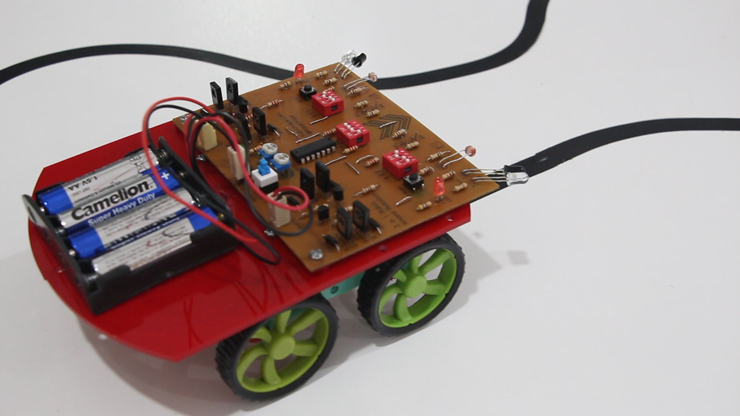 کیت سه ربات هوشمند و مبانی الکترونیک