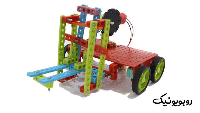 آموزش ساخت ربات لیفتراک | ترم چهارم | روبویونیک