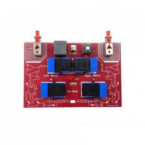 دسته کنترل ربات سه موتوره 6 دکمه