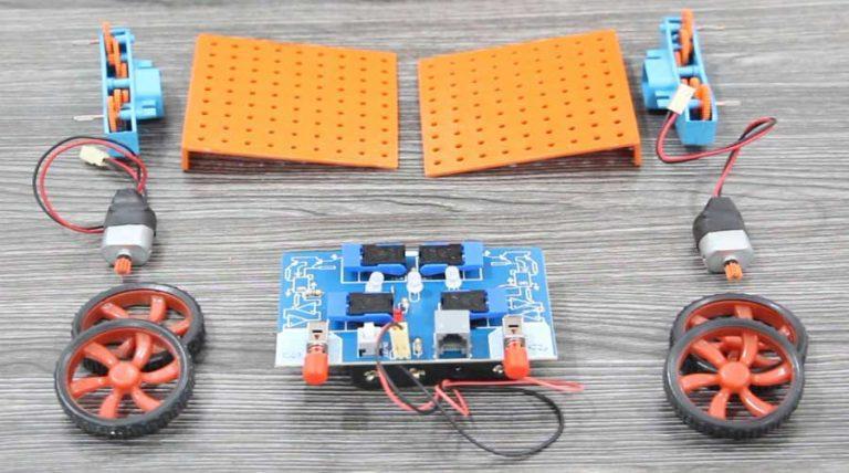 پک ساخت ربات ساده 🚗 خودت بساز