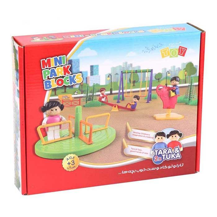 بازی ساختنی مینی پارک تارا و توکا