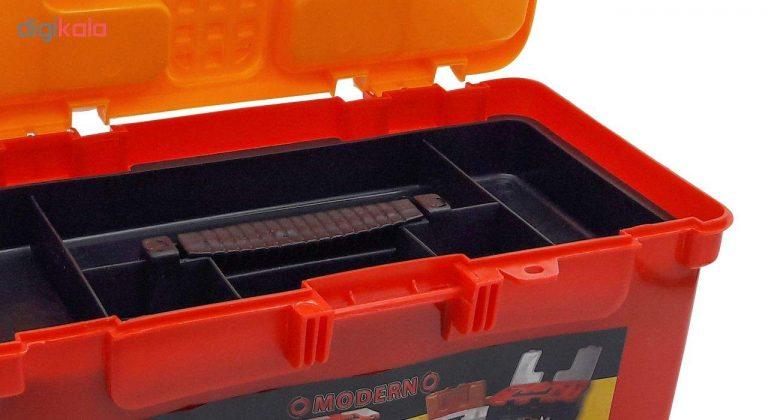 جعبه ابزار مدرن رنگی