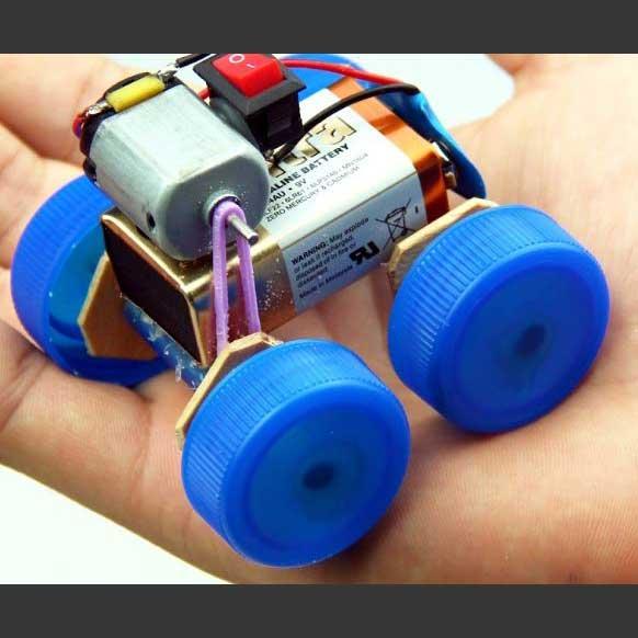 ساخت ماشین با موتور آرمیچر