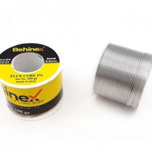 سیم لحیم 0.8mm 250g مارک Behinex