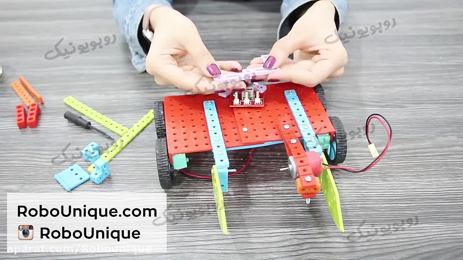 آموزش ساخت ربات فوتبالیست | ترم 3