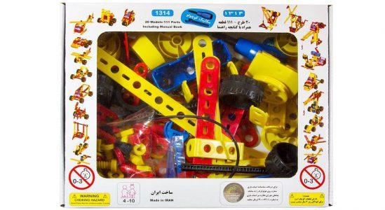 بازی آموزشی مکانیک کوچولو (+دفترچه راهنما)