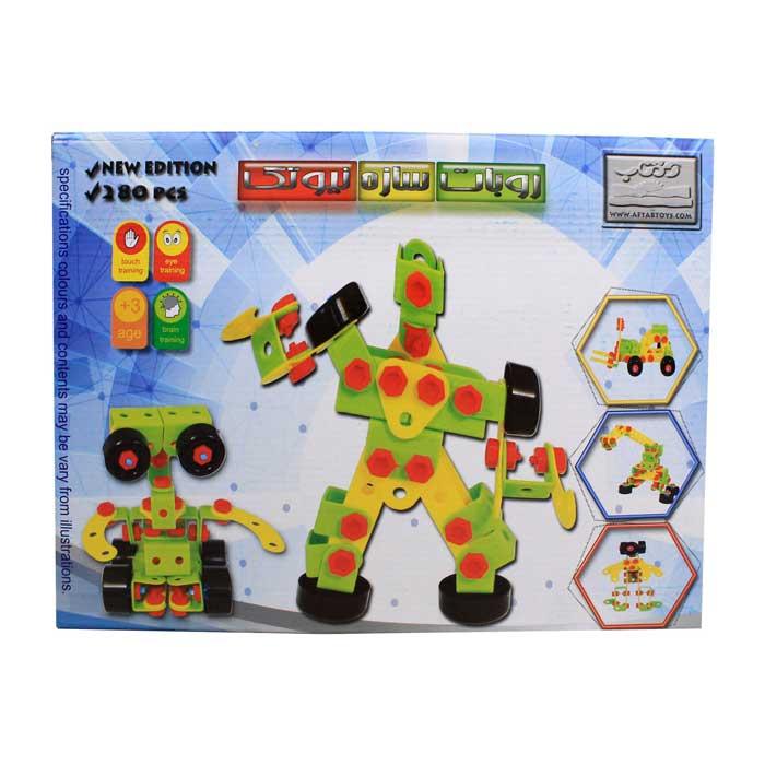 اسباب بازی ساختنی و مهارتی سازه ربات نیوتک