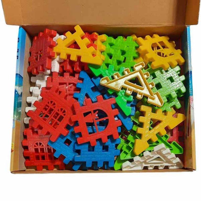 بازی بلوکه ساز دانیال مدل ۸۰ قطعه