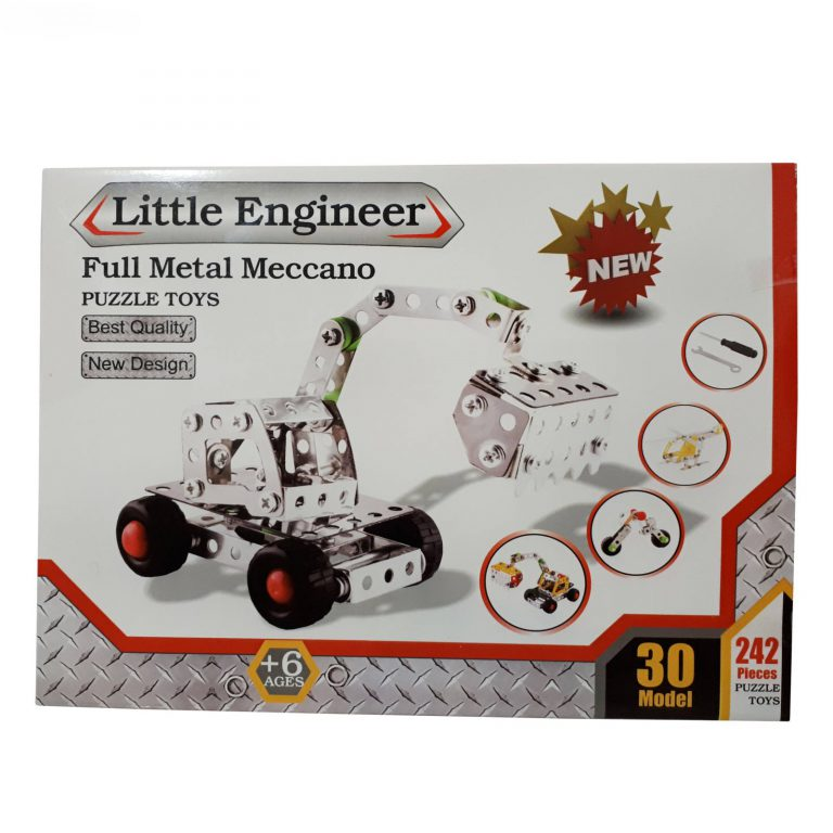 پک مکانو ۲۴۲ قطعه | Little Engineering
