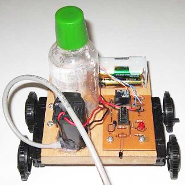 پمپ آب ربات آتش نشان